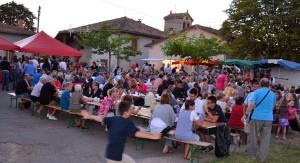 Marché gourmand à Bonnanech