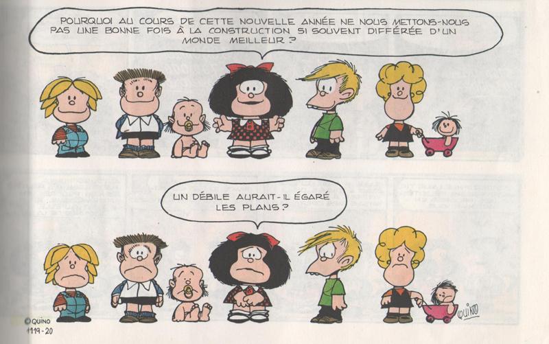 Quino - La Famille de Mafalda