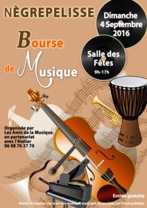 Bourse aux instruments de musique - Nègrepelisse (82)