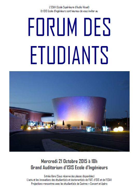 Forum des étudiants - Castres (81)