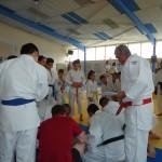 Maître Chabi prépare le tournoi