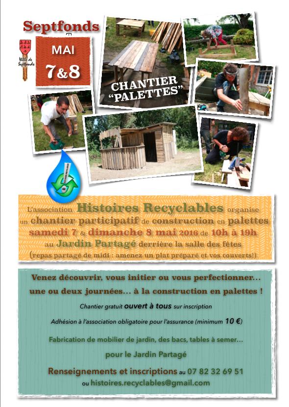 """Chantier """"Palettes"""" - Septfonds (82)"""