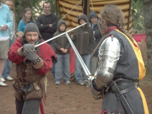 Démonstrations de combats à la Forteresse de Penne (81)