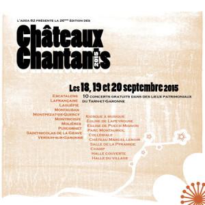 Châteaux Chantants 2015
