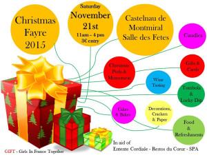 Christmas Fayre 2015 - Castelnau de Montmiral (81)