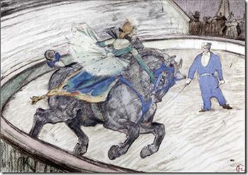 """""""Le Cirque au temps de Toulouse-Lautrec"""" ... à Lisle sur Tarn (81)"""