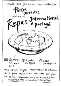 Repas International ... à Salvagnac (81)