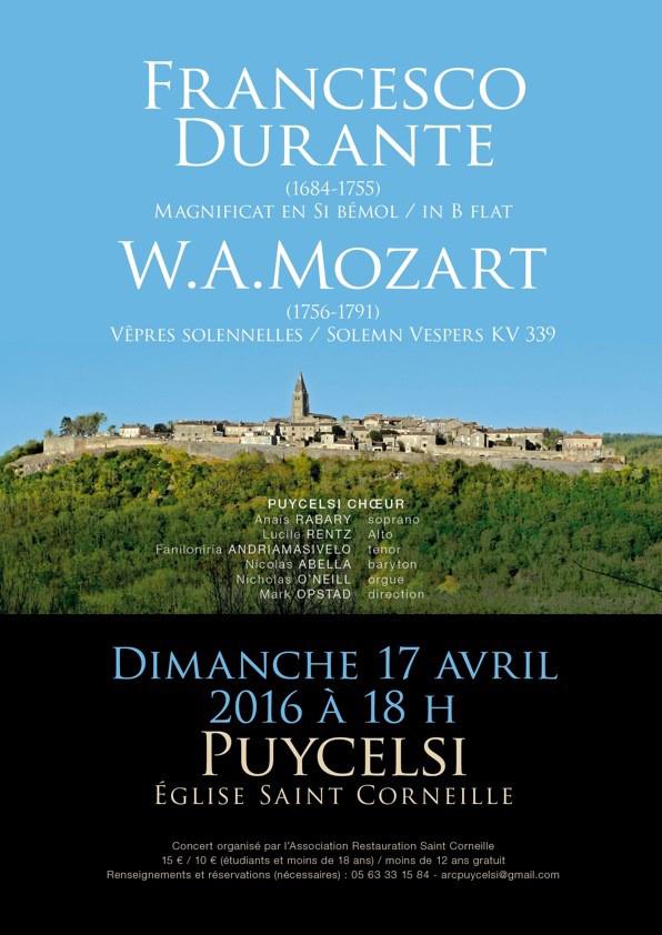 Concert Saint Corneille - Puycelsi (81)