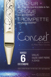 Concert Chœur, Orgue & Trompette ... à Gaillac (81)
