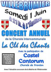 Concert de printemps 2013 - Villebrumier (82)