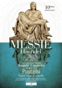 Concert choral avec Le Messie de Haendel