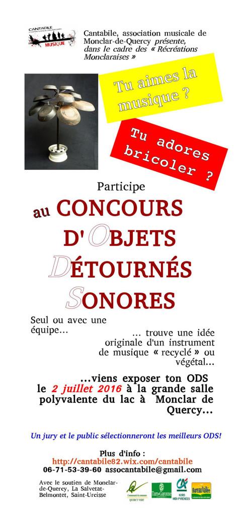 Concours d'Objets Détournés Sonores