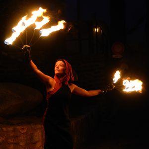 Audrey symbolise avec les feu, l'âme de Noé.