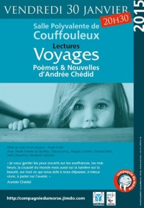 Lecture Voyages Poèmes et nouvelles A. Chédid