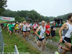 Course Nature de Larroque 2011. Club Athlétique Caussadais