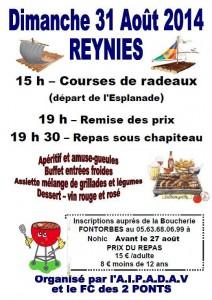 Course aux radeaux 2014