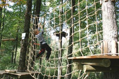 Parc de Loisirs et d'Aventures - Le Cri de Tarzan