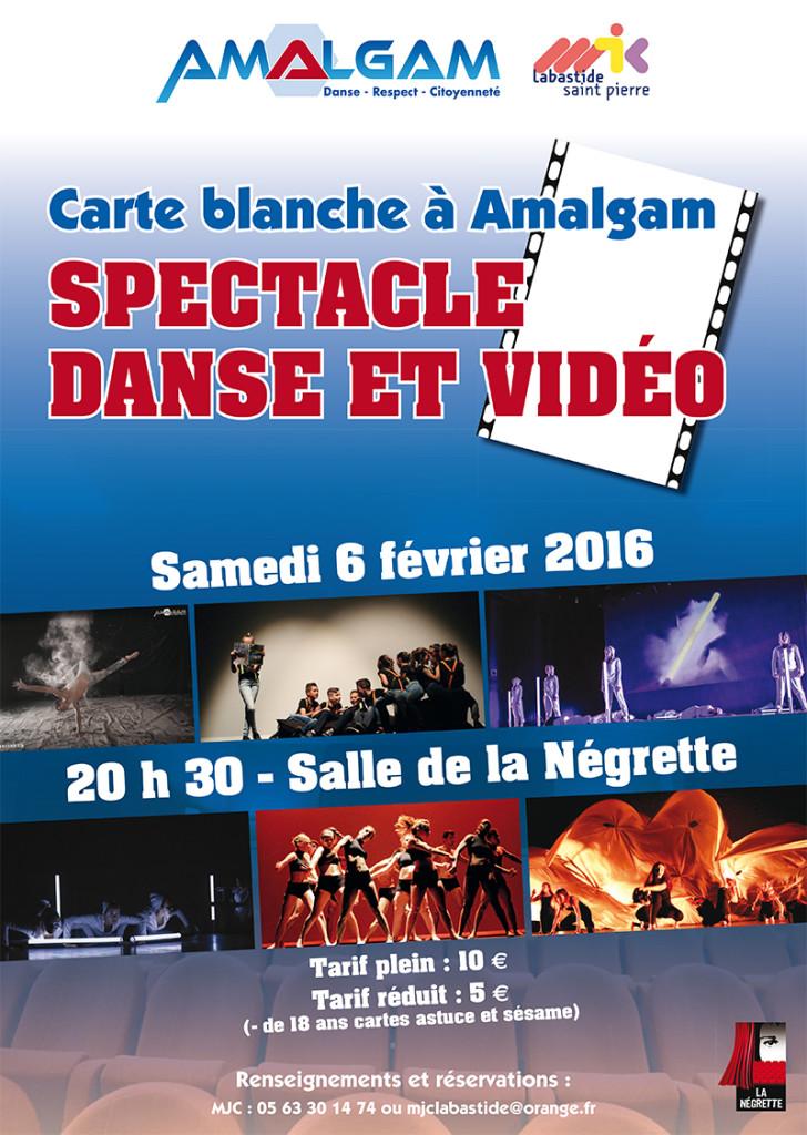 Spectacle Danse et Vidéo à Labastide Saint Pierre (82)