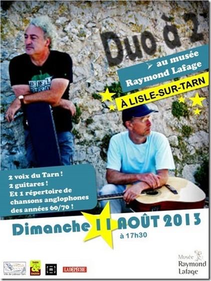 """Duo à 2"" à Lisle sur Tarn"