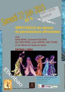 Danse et Percussions Africaines avec Ebenbao à Lavaur (81)