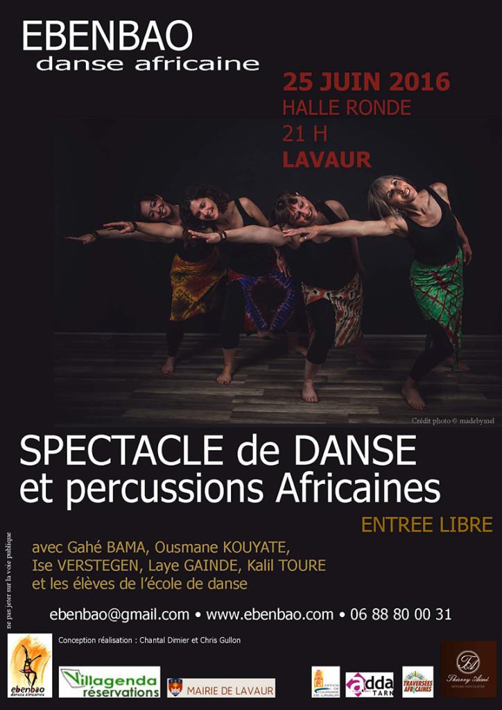 Ebenbao - Spectacle de danse et musique africaines - Lavaur (81)