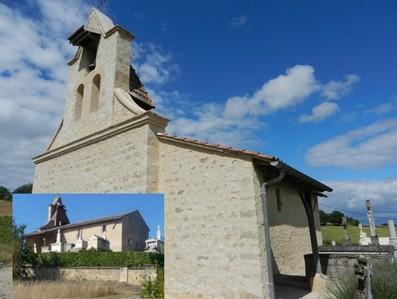 L'église romane de Vors