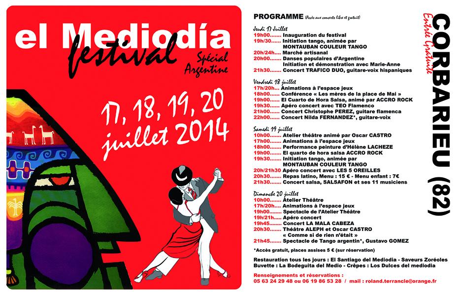 """Festival """"El Mediodia"""" de Corbarieu"""