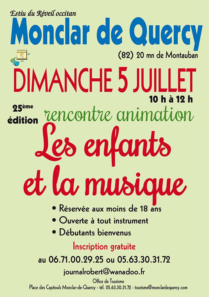 Rencontre animation à Monclar de Quercy (82)