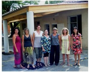 L'équipe enseignante de l'Ecole Privée Saint-Joseph (Saint-Etienne de Tulmont)