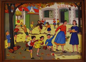 Exposition L'école d'autrefois  - Saint-Nauphary (82)