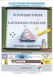Exposition Les Doigts d'Or à Villemur sur Tarn