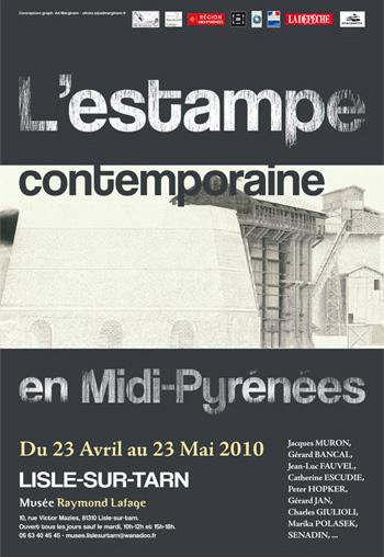 L'estampe contemporaine - Musée Raymond Lafage - Lisle sur Tarn (81)