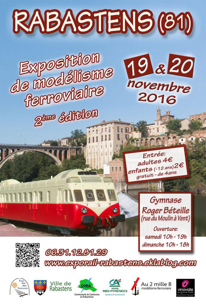 Exposition de modélisme ferroviaire ... à Rabastens (81)