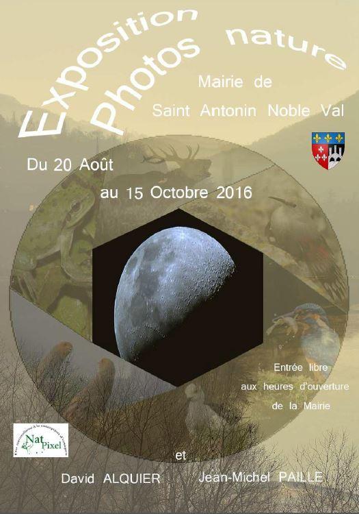 Expo Photos Nature ... à Saint-Antonin Noble Val (82)