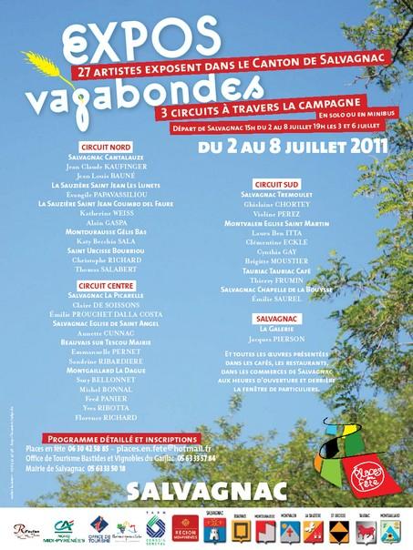 EXPOS VAGABONDES 2011
