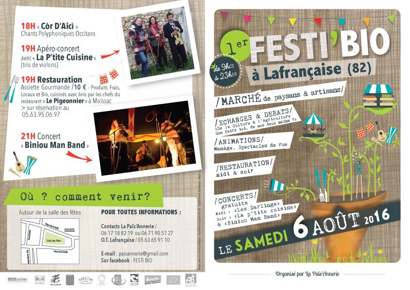 Festi'bio ... à Lafrançaise (82)
