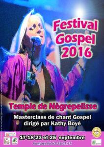 13ème Festival Gospel ... à Nègrepelisse (82)