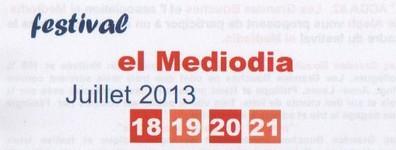"Festival ""El Médiodia"""