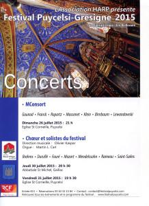 Festival de Puycelsi Grésigne 2015