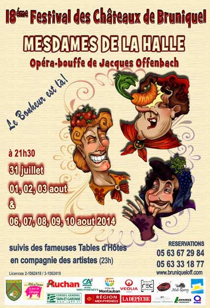 Festival des châteaux de Bruniquel