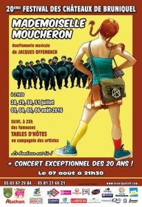 En 2016, le Festival des Châteaux a 20 ans ! ... à Bruniquel (82)
