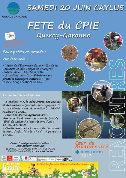 Fête du CPIE Quercy-Garonne