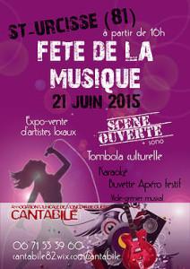 Fête de la Musique à Saint-Urcisse (81)