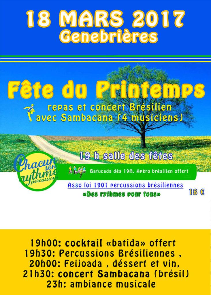 Repas Concert brésilien ... à Genebrières (82)