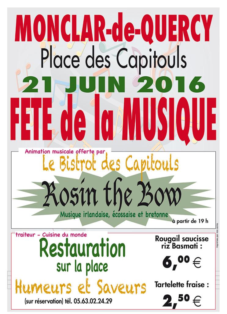 Fête de la Musique ... à Monclar de Quercy (82)