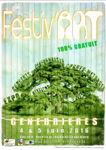Festiv'ART, 2ème édition  ... à Genebrières (82)