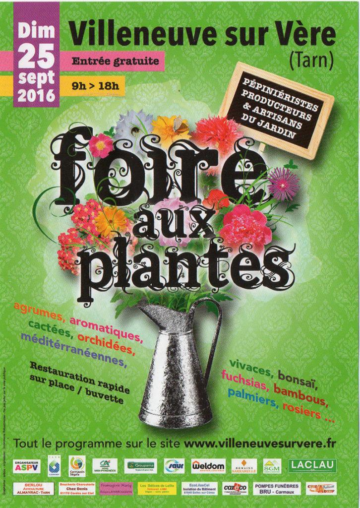 Foire aux Plantes ... à Villeneuve sur Vère (82)