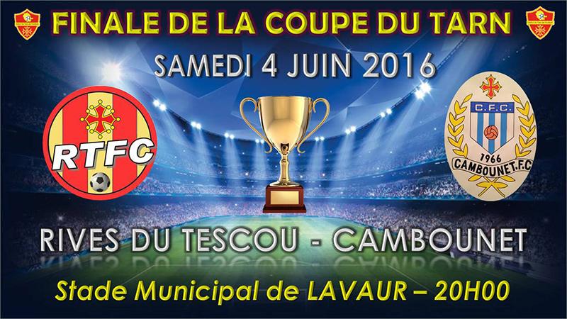 Football : finale de la Coupe du Tarn ... à Lavaur (81)