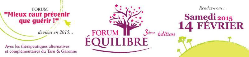 Forum Equilibre à Montauban (82)
