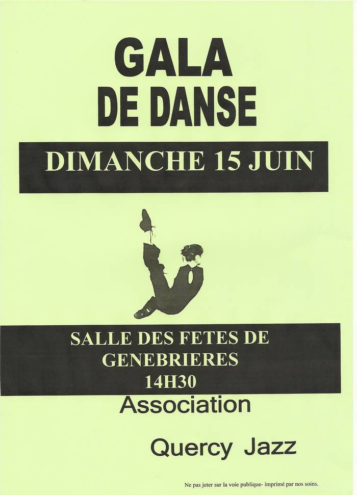 Quercy Jazz - Gala de Danse 2014